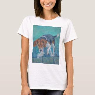 Sparky Hund:  Der Abfall-Jagdhund-Beagle T-Shirt