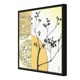 Spärliche Baum-Silhouette durch Megan Meagher Leinwanddruck