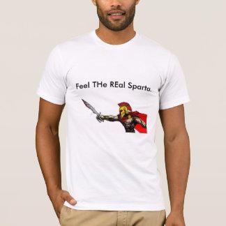 Sparta gravierte T-Shirt