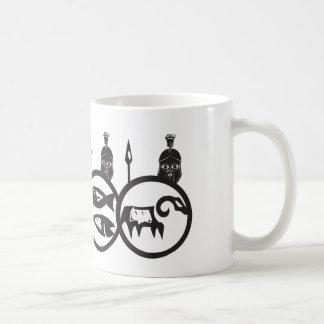 Spartanische Phalanx Kaffeetasse
