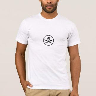 Spartanische Sturzhelm-Schwerter T-Shirt
