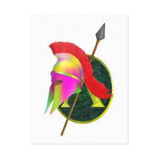 Spartanischer oder griechischer Krieger Leinwanddruck