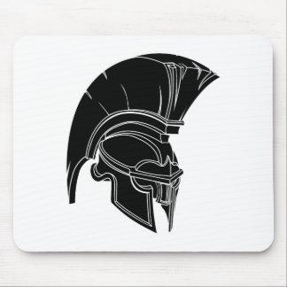 Spartanischer oder trojan Sturzhelm Mousepad