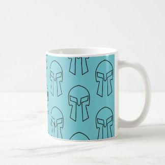 Spartanischer Sturzhelm - Weiß 11 Kaffeetasse
