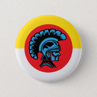 Spartanisches Fieber - Knopf Runder Button 5,7 Cm