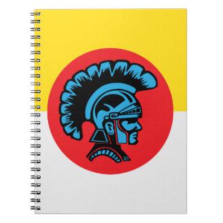 Spartanisches Fieber - Notizbuch Notizblock