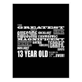 Spaß-13. Geburtstags-Party-bestste dreizehn Postkarte