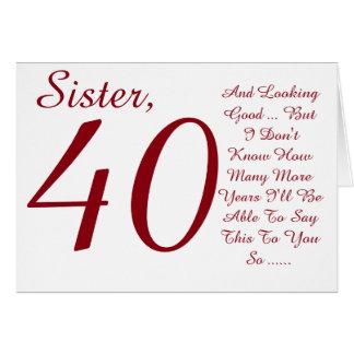 40 geburtstag schwester geschenk