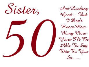 50 Geburtstag Schwester Karten Zazzle De