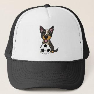 Spaß-australische Vieh-Hundefußball-Grafik Truckerkappe