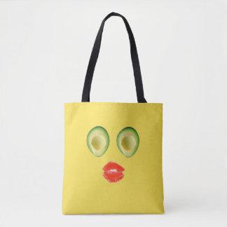 Spaß-Avocado-Gesicht 4Diane Tasche
