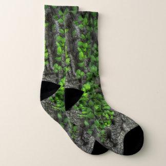 Spaß-Baumrinde und Efeu Socken