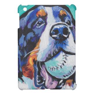SPASS Bernese GebirgshundePopkunstmalerei iPad Mini Hülle