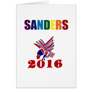 Spaß-Bernie-Sandpapierschleifmaschinen für Karte