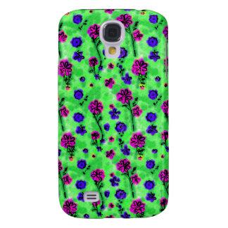 Spaß Blumen3 umkleidend Galaxy S4 Hülle
