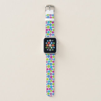 Spaß-bunte Tupfen Apple Watch Armband