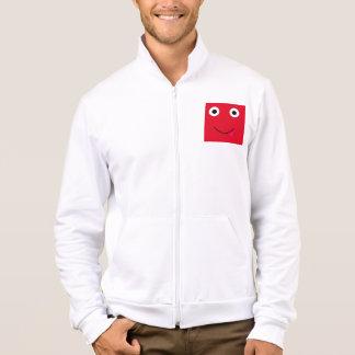 Spaß-Charakter-Jacke für Männer: Rot Jacke