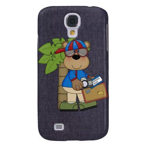 Spaß-Comic-Bärn-Frühlings-Bruch 3G/3GS Galaxy S4 Hülle