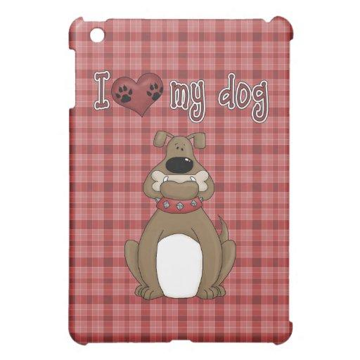 Spaß-Comic-Liebe mein Hund iPad Mini Hülle