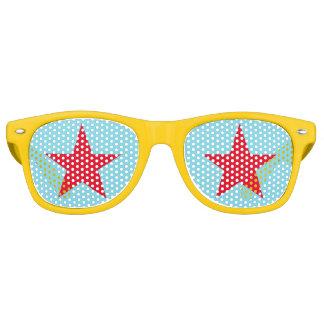 Spaß-cooler Stern-kundenspezifische Sonnenbrille