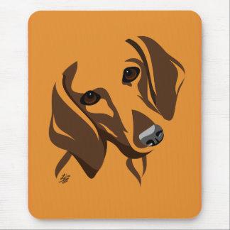 Spaß-Dackel Mousepads