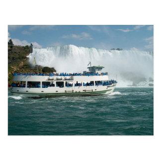 Spaß des Boots-Segel-Ontariosees der Niagara Fluss Postkarte