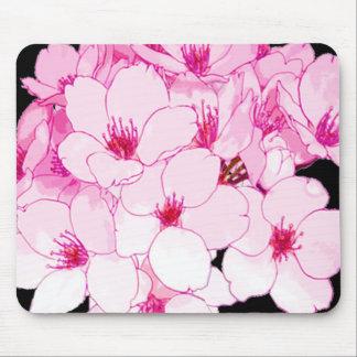 """Spaß entwirft"" Blumen-Rosa Mousepads"