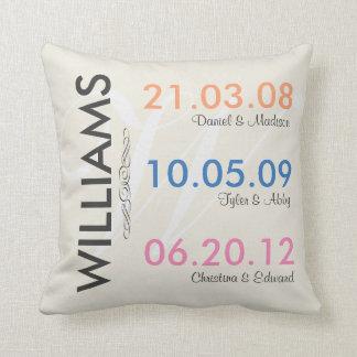 Spaß erinnern sich die an Hochzeits-Daten Ihre Kissen