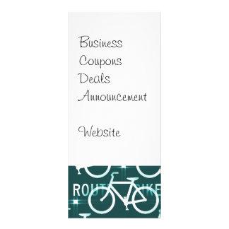Spaß-Fahrrad-Weg Fixie Fahrrad-Radfahrer-Muster Karten Druck