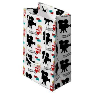 Spaß-Filmliebhaber deckten Muster-Partytasche mit Kleine Geschenktüte