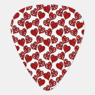 Spaß-flüchtiges Herz-Muster Plektron