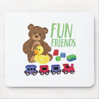 Spaß-Freunde Mousepad