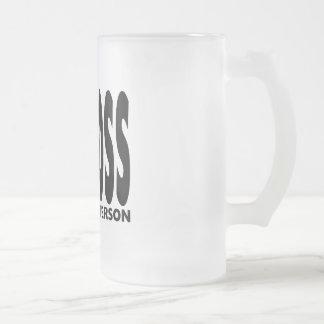 Spaß-Geschenke für Chefs: Ich Chef Sie kleine Pers Teetassen