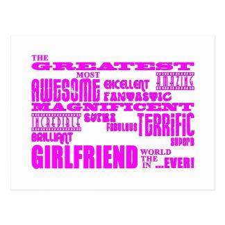 Spaß-Geschenke für Freundinnen: Bestste Freundin Postkarten