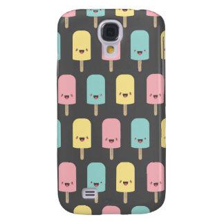 Spaß glückliche Kawaii Eis-Lutschbonbons Galaxy S4 Hülle