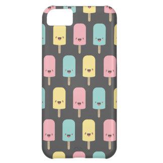Spaß glückliche Kawaii Eis-Lutschbonbons iPhone 5C Hülle
