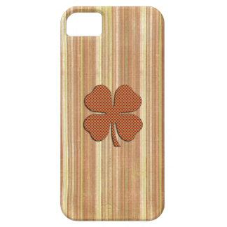 Spaß grundge irisches glückliches Kleeblatt iPhone 5 Etui