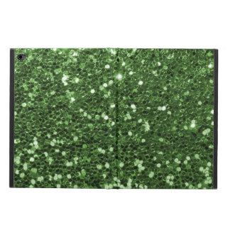 Spaß-grüner Imitat-Glitter-Druck
