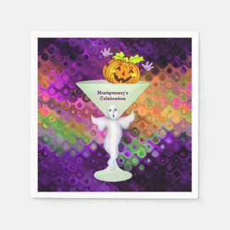 Spaß-Halloween-Cocktail-Party Serviette