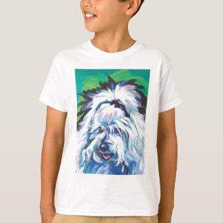 Spaß-helle Pop-Kunst Baumwollde Tulear Dog T-Shirt
