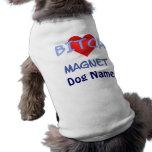 Spaß-Hundemagnet-Haustier-Kleidung - fertigen Sie  Hund T-shirts