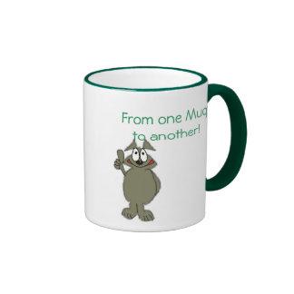 Spaß-Kaffee-Tasse Ringer Tasse