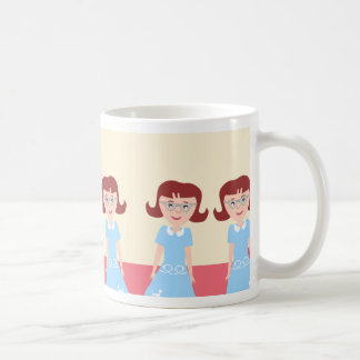 Spaß-Kitschy Fünfzigerjahre Gallone Tasse