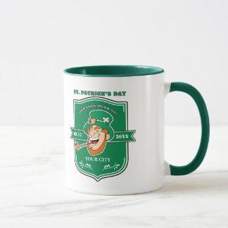 Spaß-Kobold-Abzeichen-Entwurfs-St Patrick Tasse