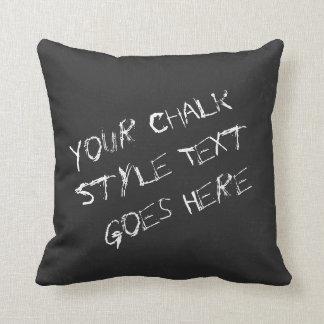 Spaß-kundengerechte Kreide-Schriftart-und Kissen