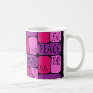 Frieden Tassen