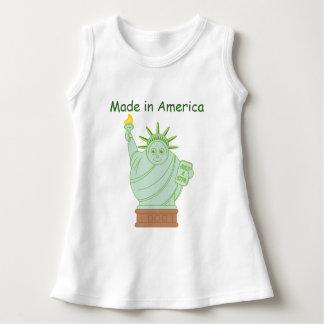 "Spaß-""machte in Amerika"" Cartoon Kleid"