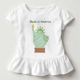 """Spaß-""""machte in Amerika"""" Cartoon Kleinkind T-shirt"""