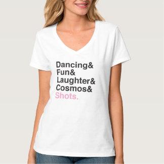 Spaß-Mädchen-Nachtheraus T - Shirt