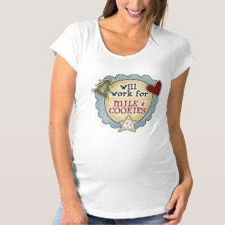 Spaß-Milch u. der MutterschaftsT - Shirt der